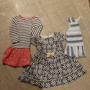 3T Gymboree dress Lot of 3 Dresses